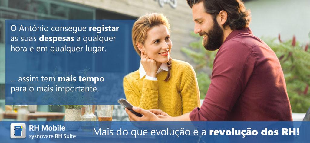 Registar Despesas através do RH Mobile