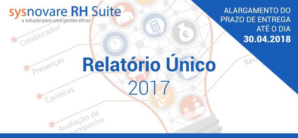 Relatório Único 2017