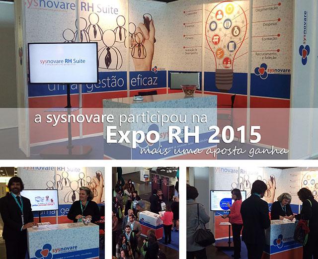 A Sysnovare participou na Expo RH 2015