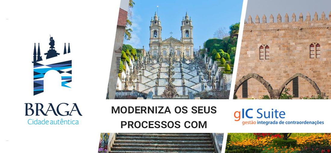 Braga moderniza os seus processos com o gIC Suite