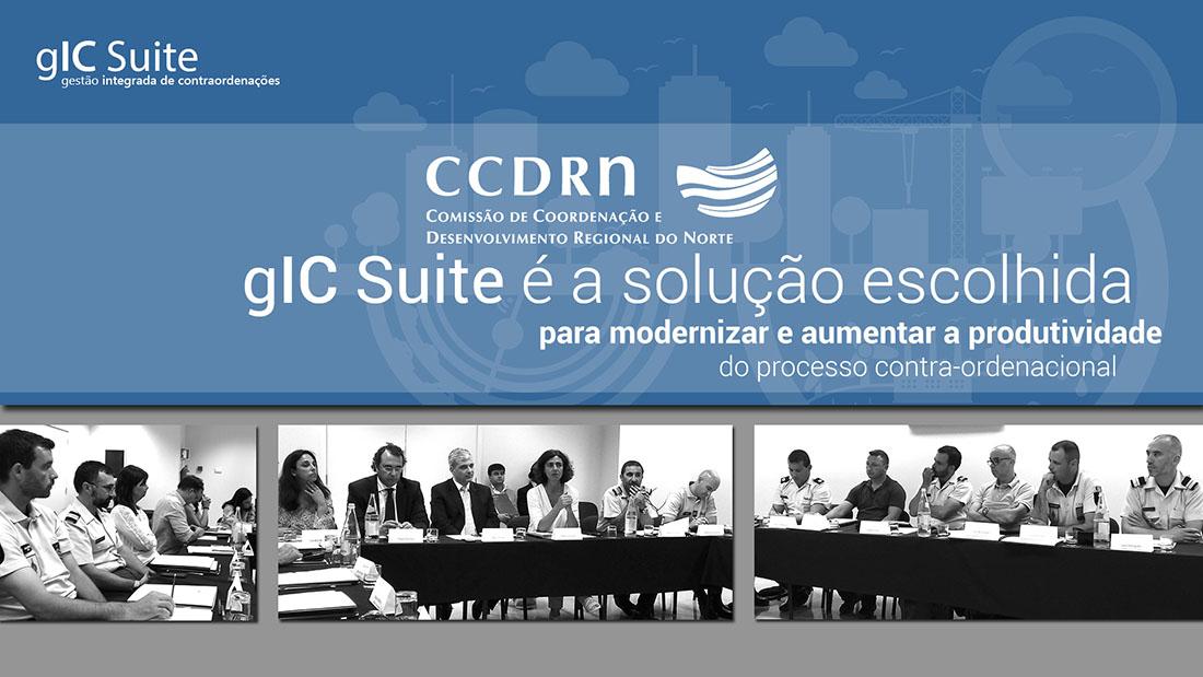 CCDR-N anuncia escolha do gIC Suite