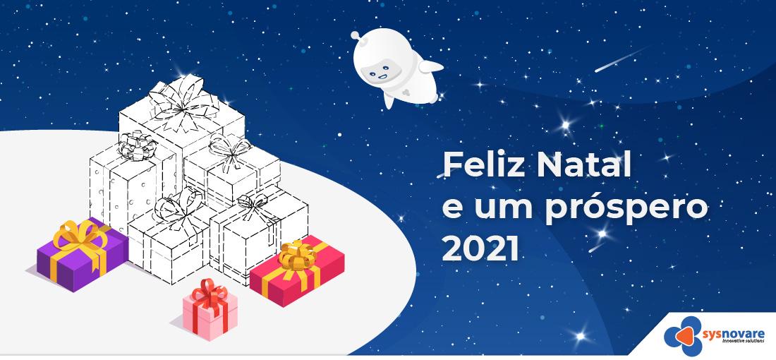 Feliz Natal e um próspero ano de 2021
