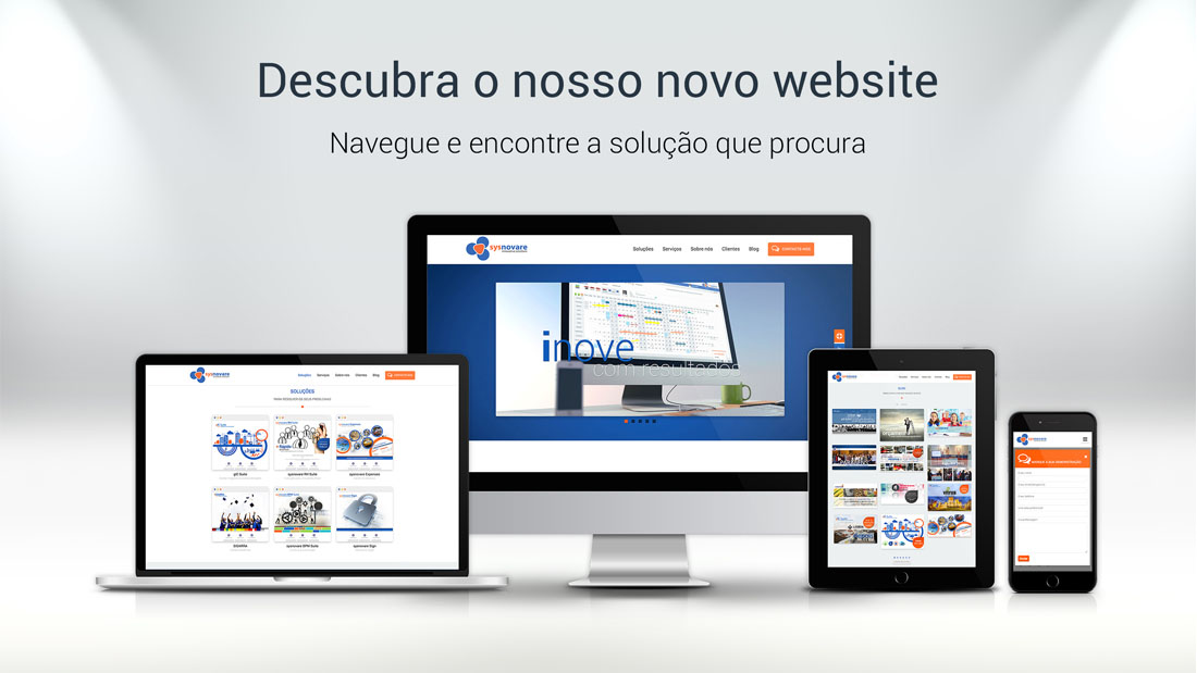 Descubra o nosso novo website