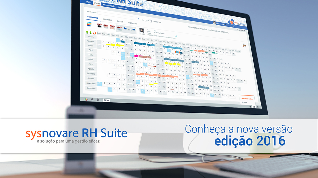 Nova versão do Sysnovare RH Suite (Edição 2016)